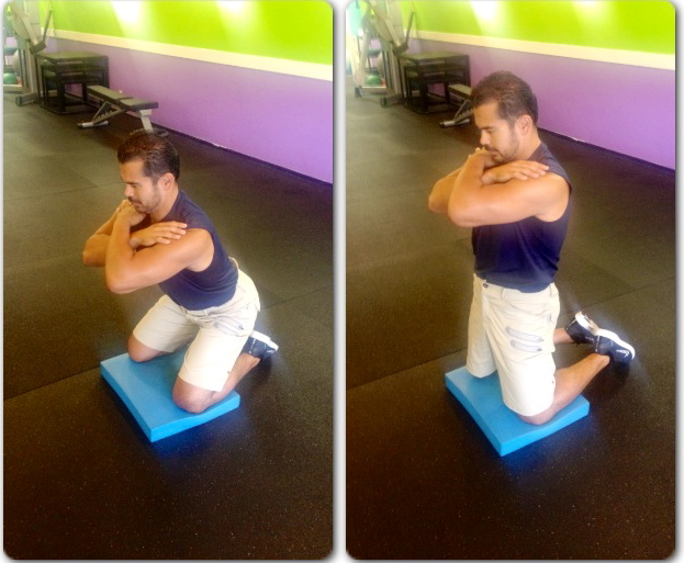 Start & Finish Position- Isolated Hip Squat